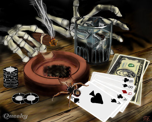 how to play dead mans hand