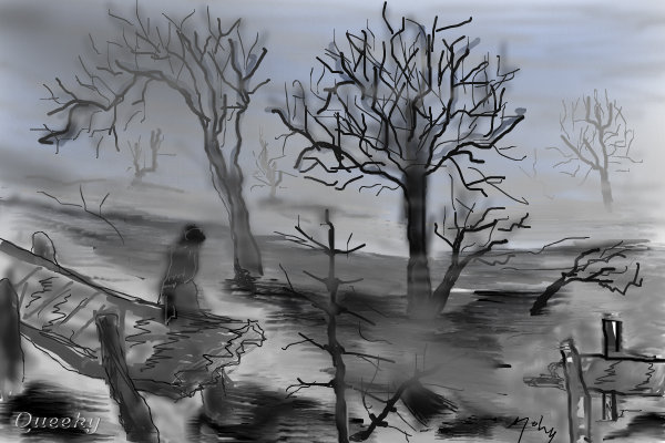 Fog and flood ← a other Speedpaint drawing by Mahio2010 ...