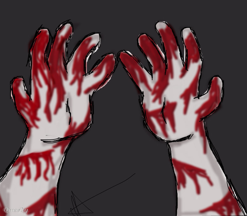 Blood And Hands Practice ← a other Speedpaint drawing by ...