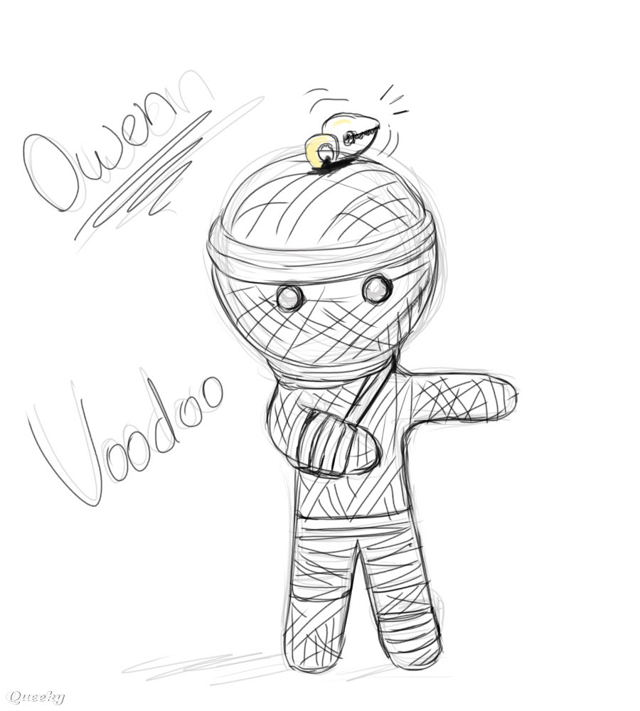 Voodoo Sketch A Other Speedpaint Drawing By Blackblaze Queeky Draw Amp Paint