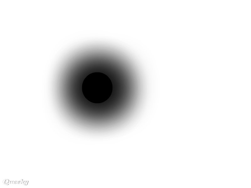 How to draw blackhole