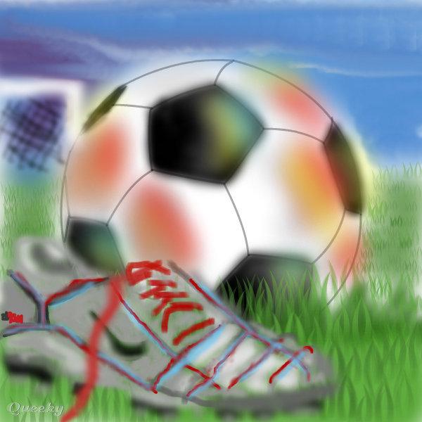 soccer scene  u2190 a other speedpaint drawing by marissa112