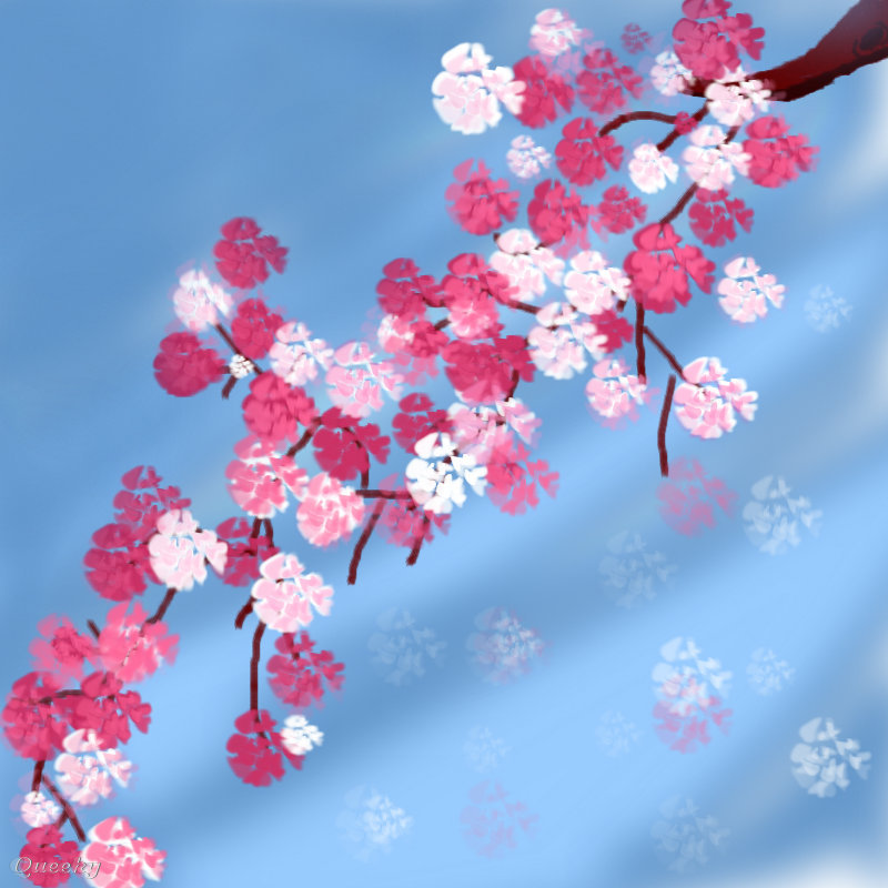 Pretty flowers ← a plants Speedpaint drawing by Rosebuddy ...