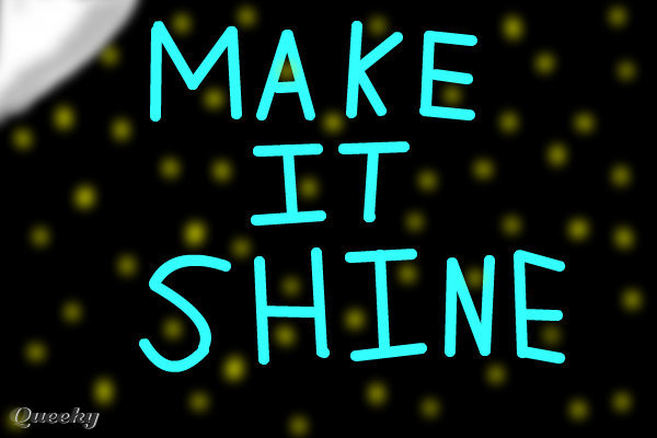 make it shine Make it shine was released as the first promotional single on april 13, 2010  leave it all to shine  was released june 10, 2011, as the second single from the album and performed on the icarly 90-minute special  iparty with victorious  by the cast members of both icarly and victorious.