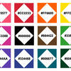 PPAT Color Palette (w/ Hex Codes)
