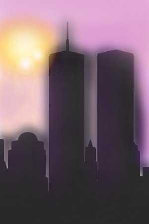 Twin Towers An Architecture Speedpaint Drawing By