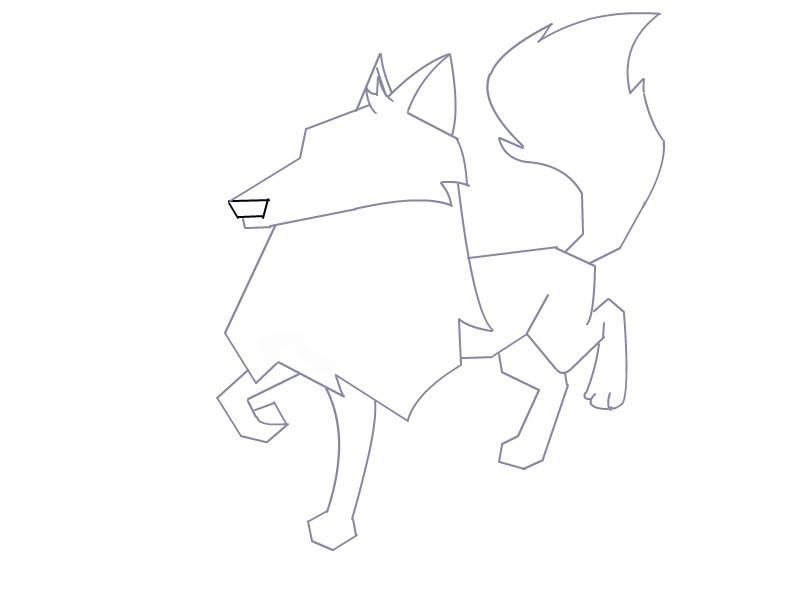 Animal Jam Artic Wolf
