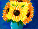 sunflowers-in-a-blue-v