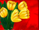 yellow-tulips-on-red
