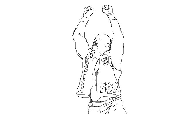 Stone cold steve austin a people speedpaint drawing by for Wwe ring coloring pages