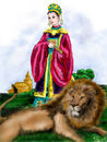 princess-and-lion